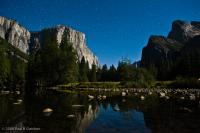 Moonlit Merced River