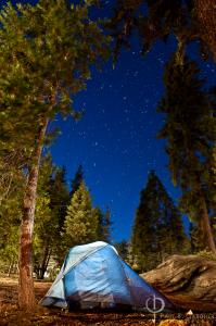 Camping in Sequioa National Park / Nikon D3, 24mm, f/5, ISO400, 4 minutes