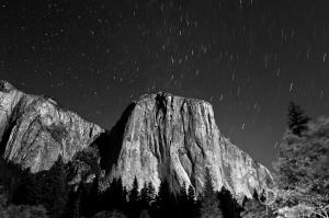El Capitan by Moonlight, Yosemite National Park / Nikon D3, 28mm, f/8, ISO400, 7 minutes