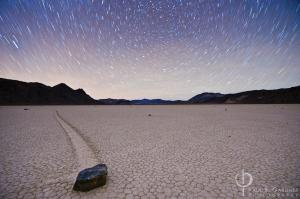 Racetrack Playa, Death Valley / Nikon D3, 14mm, f/4, ISO3200, 10 minutes