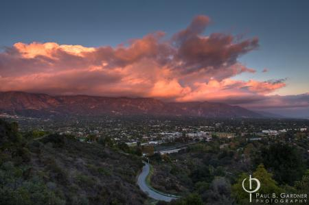 San Gabriel Sunset